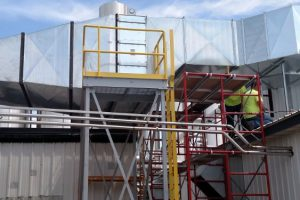 Cheese Plant Make Up Air Instalation