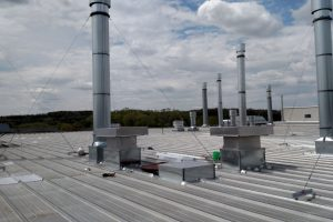 Industrial facility Stacks and Air Intakes