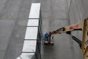 Return Air Duct Install at Industrial Facility